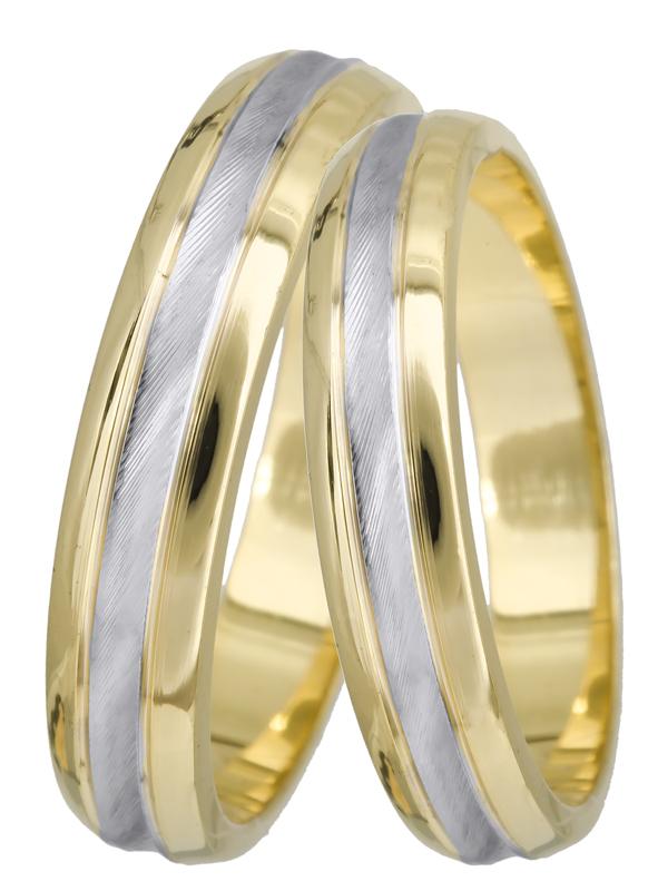 Χρυσές βέρες γάμου Κ14 022519 022519 Χρυσός 14 Καράτια μεμονωμένο τεμάχιο ed6d48436df