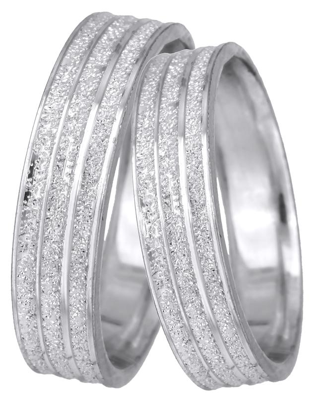 Λευκόχρυσες βέρες γάμου Κ14 022526 022526 Χρυσός 14 Καράτια