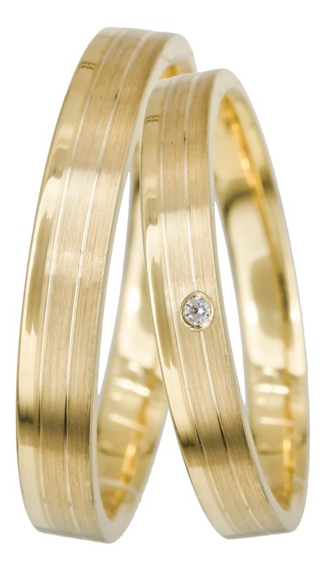 Χρυσές βέρες γάμου Κ14 022545 022545 Χρυσός 14 Καράτια