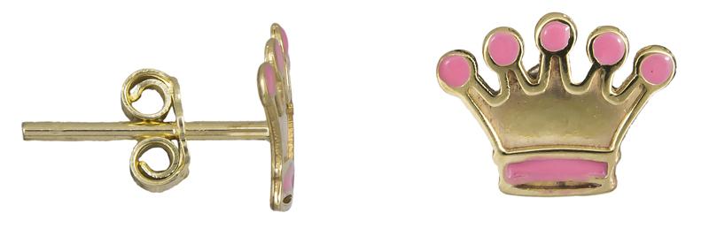 Χρυσά παιδικά σκουλαρίκια Κ9 022571 022571 Χρυσός 9 Καράτια