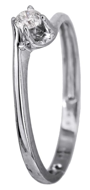 Μονόπετρο δαχτυλίδι με διαμάντι Κ18 022780 022780 Χρυσός 18 Καράτια χρυσά κοσμήματα δαχτυλίδια μονόπετρα