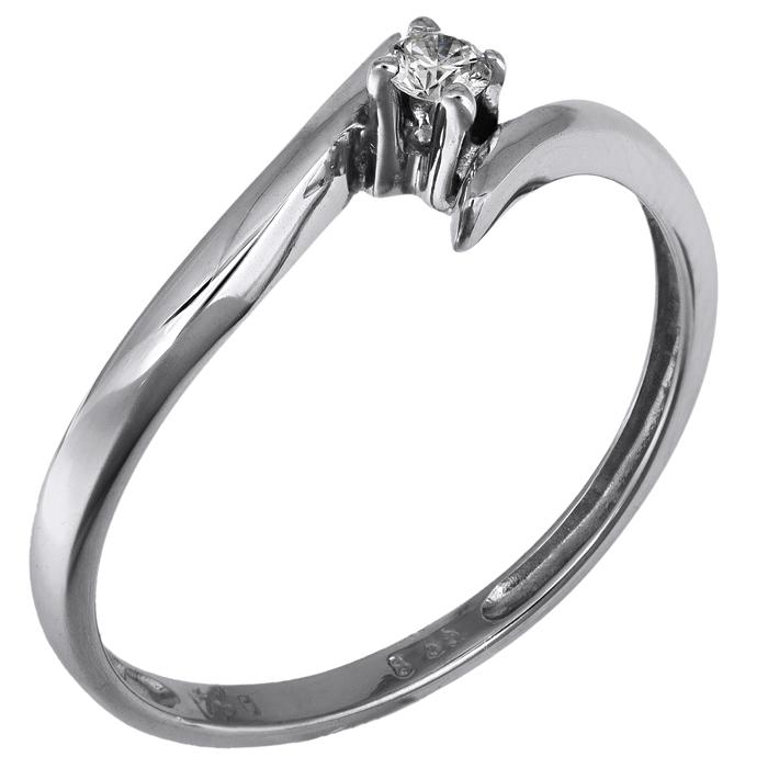Μονόπετρο δαχτυλίδι Κ18 με brilliant 006367 006367 Χρυσός 18 Καράτια