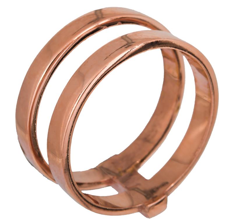 Γυναικείο διπλό δαχτυλίδι 925 022909 022909 Ασήμι