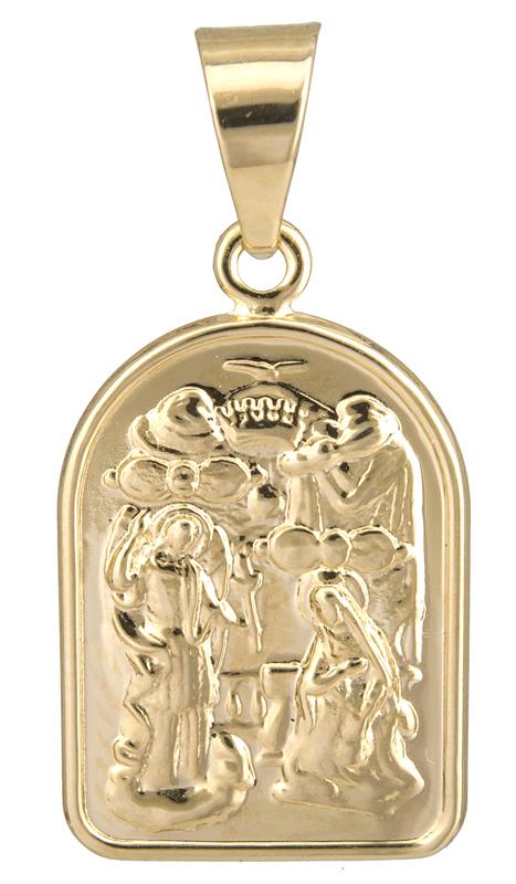 Χρυσό φυλαχτό Κ14 023046 023046 Χρυσός 14 Καράτια