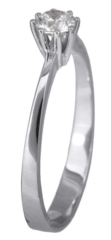 Μονόπετρο δαχτυλίδι με ζιργκόν Κ14 023190 023190 Χρυσός 14 Καράτια