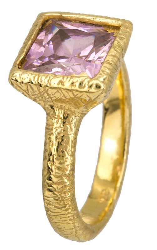 Επίχρυσο δαχτυλίδι 925 023202 023202 Ασήμι
