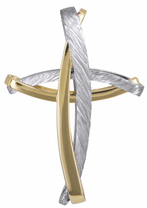 Σταυροί Βάπτισης - Αρραβώνα Αντρικός σταυρός Κ14 023253 023253 Ανδρικό Χρυσός 14 Καράτια