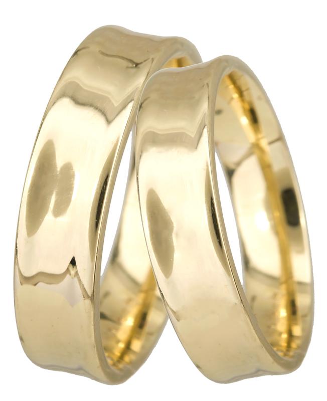 Βέρες χρυσές κλασικές Κ14 023363 023363 Χρυσός 14 Καράτια