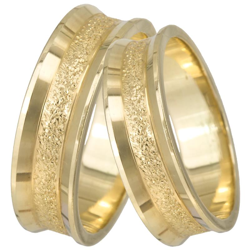 Βέρες γάμου χρυσές Κ14 023376 023376 Χρυσός 14 Καράτια 524be010088