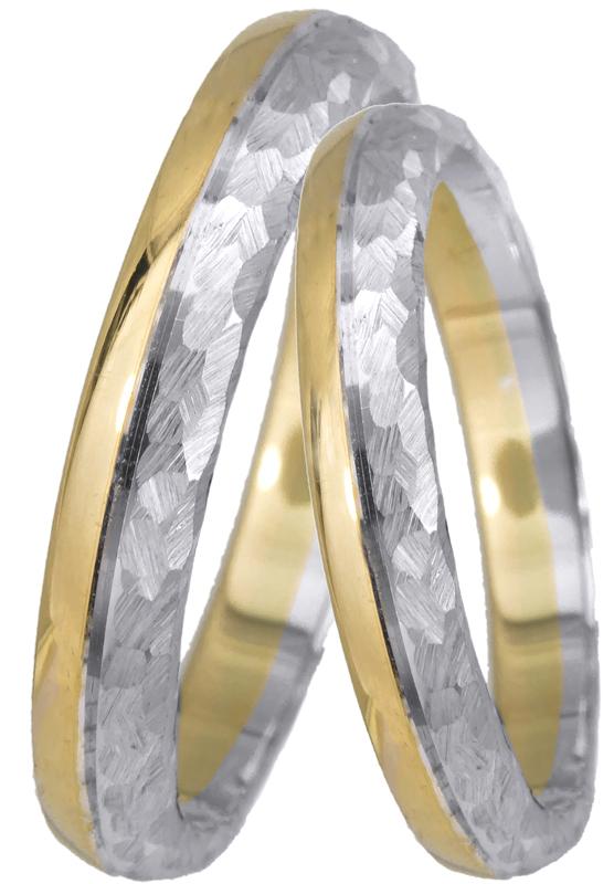 Βέρες γάμου χειροποίητες Κ14 023379 023379 Χρυσός 14 Καράτια