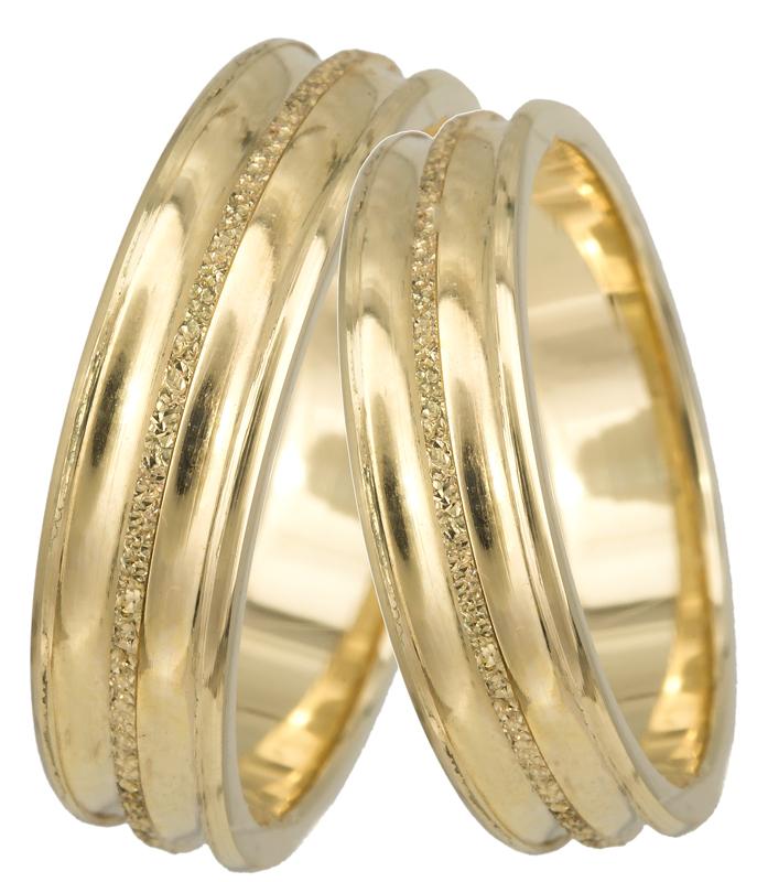 Βέρες γάμου χρυσές Κ14 023380 023380 Χρυσός 14 Καράτια
