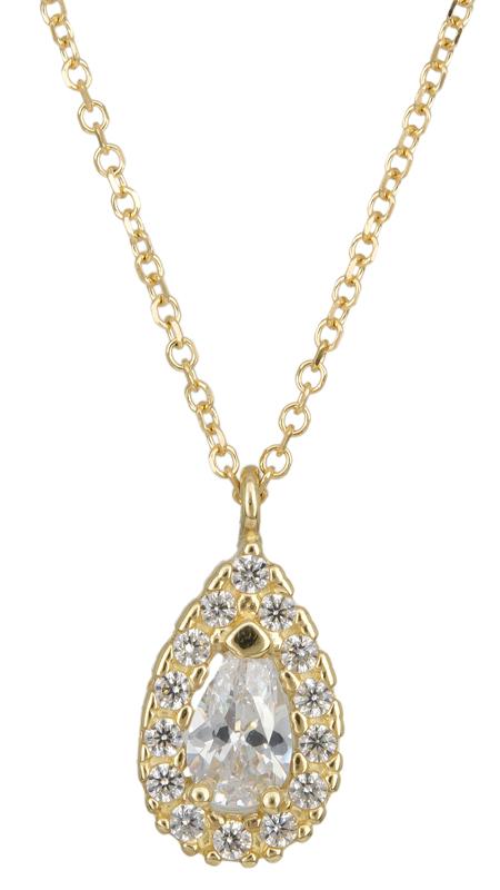 Γυναικείο χρυσό κολιέ ροζέτα Κ14 023400 023400 Χρυσός 14 Καράτια