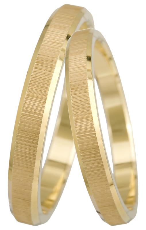 Βέρες γάμου χρυσές Κ14 023444 023444 Χρυσός 14 Καράτια