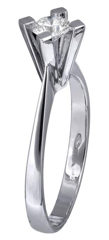 Μονόπετρο δαχτυλίδι με μπριγιάν Κ18 023735 023735 Χρυσός 18 Καράτια