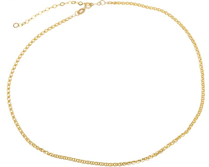 Kολιέ Choker Κ14 023509 023509 Χρυσός 14 Καράτια