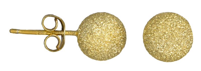 Επίχρυσα σκουλαρίκια φούσκες 925 023613 023613 Ασήμι