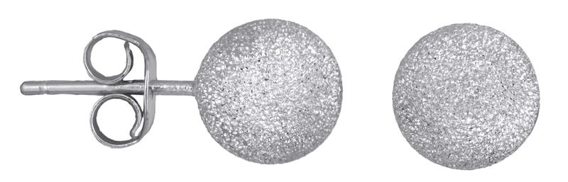Ασημένια καρφωτά σκουλαρίκια 925 023648 023648 Ασήμι