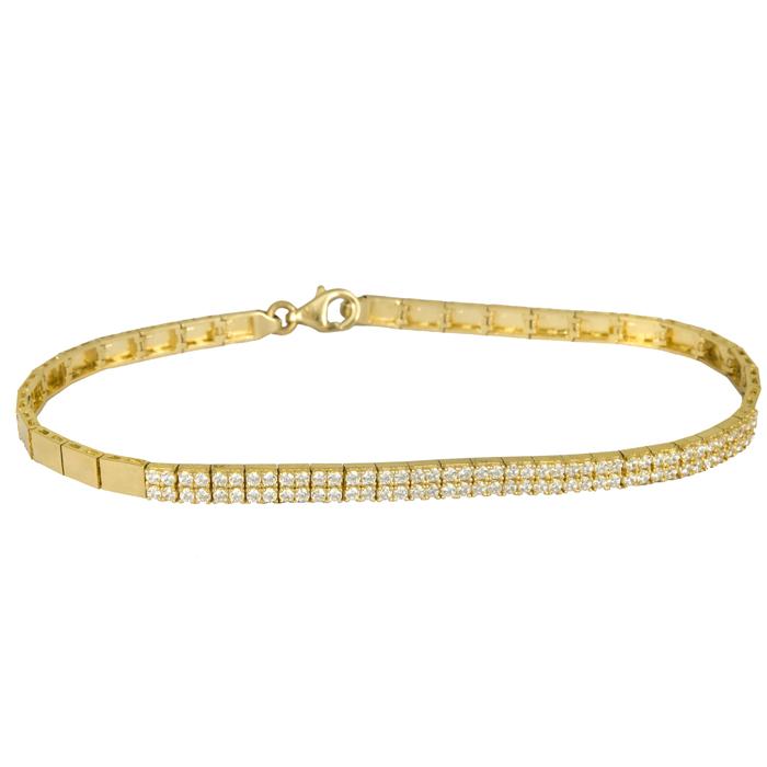 Γυναικείο βραχιόλι δίσειρο χρυσό 14 Κ 023804 023804 Χρυσός 14 Καράτια