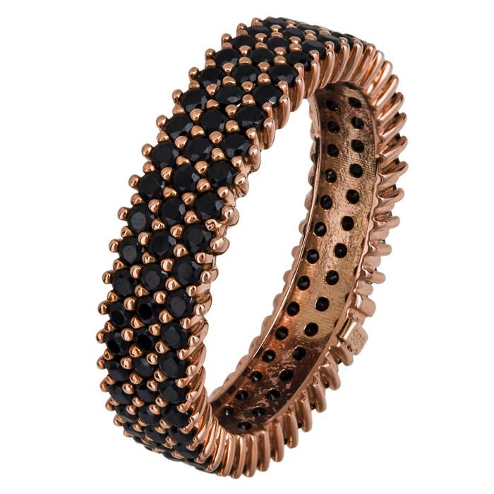 Ροζ gold τρίσειρο δαχτυλίδι Κ14 023826 023826 Χρυσός 14 Καράτια