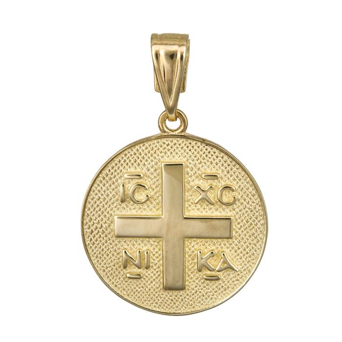 Κωνσταντινάτο με σταυρό 14Κ 023845 023845 Χρυσός 14 Καράτια