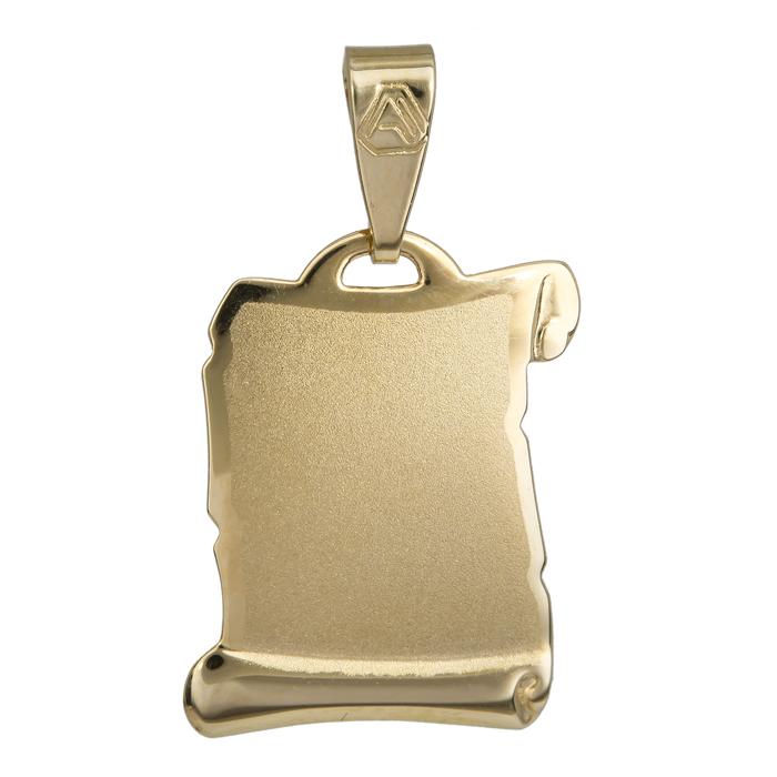 Κρεμαστό πάπυρος - ταυτότητα χρυσό 14 Κ 023919 023919 Χρυσός 14 Καράτια