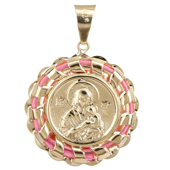 Κωνσταντινάτο χρυσό για κορίτσι 9K 023967 023967 Χρυσός 9 Καράτια