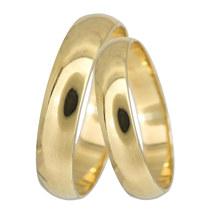 Κλασικές βέρες γάμου Κ14 024058 024058 Χρυσός 14 Καράτια μεμονωμένο τεμάχιο 7ef25b3174e