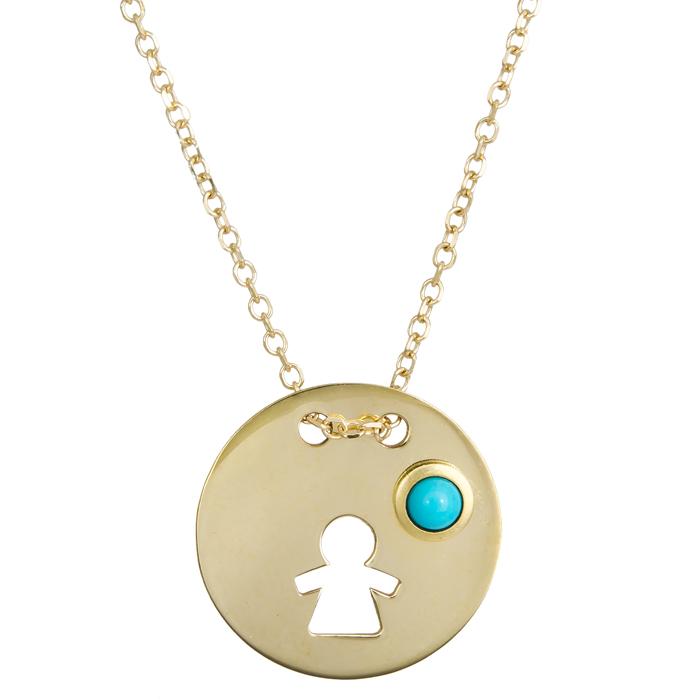 Χρυσό κολιέ για μανούλα Κ9 024074 024074 Χρυσός 9 Καράτια