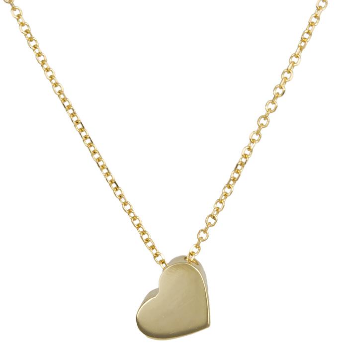 Χρυσό κολιέ καρδιά 14 Κ 024115 024115 Χρυσός 14 Καράτια