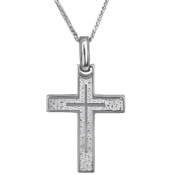 Βαπτιστικοί Σταυροί με Αλυσίδα Σταυρός βάπτισης με αλυσίδα Κ14 024222C 024222C Ανδρικό Χρυσός 14 Καράτια