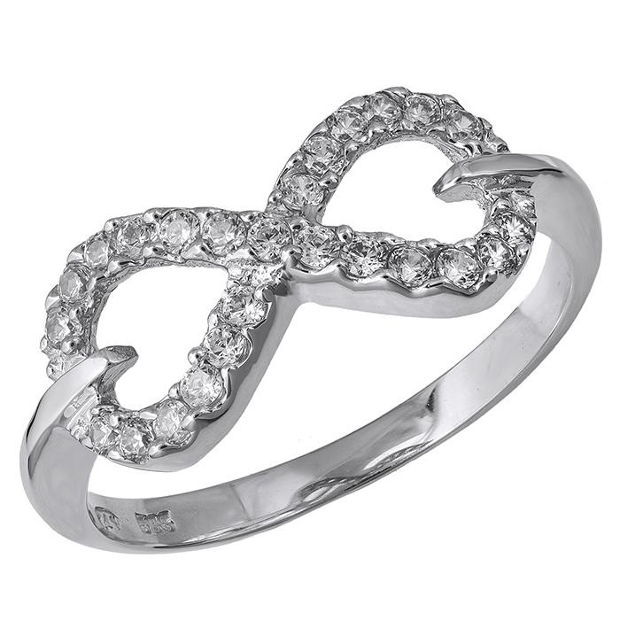 Λευκόχρυσο δαχτυλίδι άπειρο 14Κ 024359 024359 Χρυσός 14 Καράτια