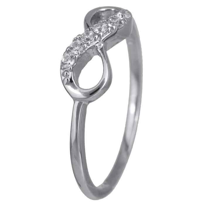 Γυναικείο δαχτυλίδι άπειρο 14Κ 024360 024360 Χρυσός 14 Καράτια