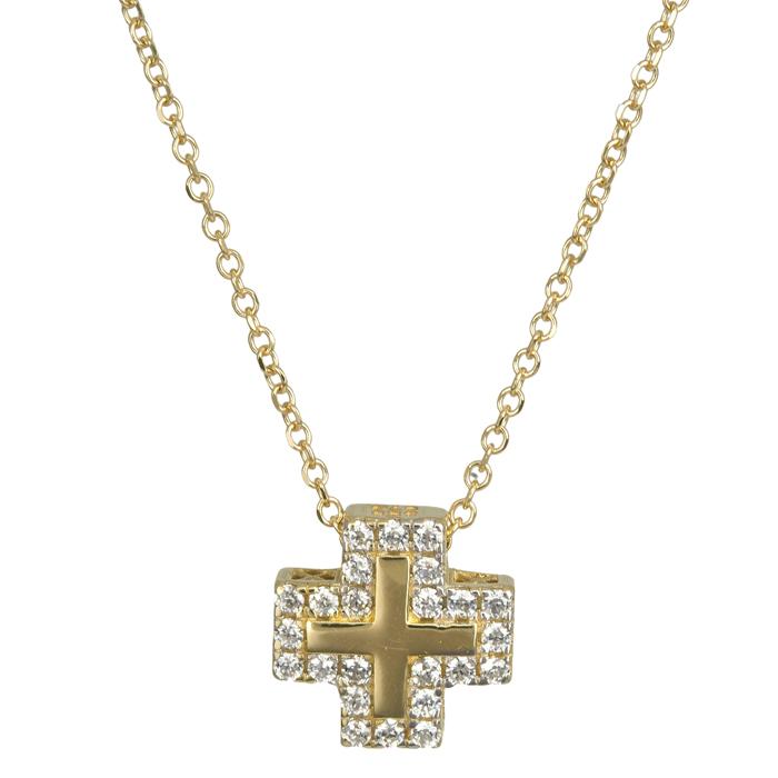 Χρυσός σταυρός Κ14 024400 024400 Χρυσός 14 Καράτια