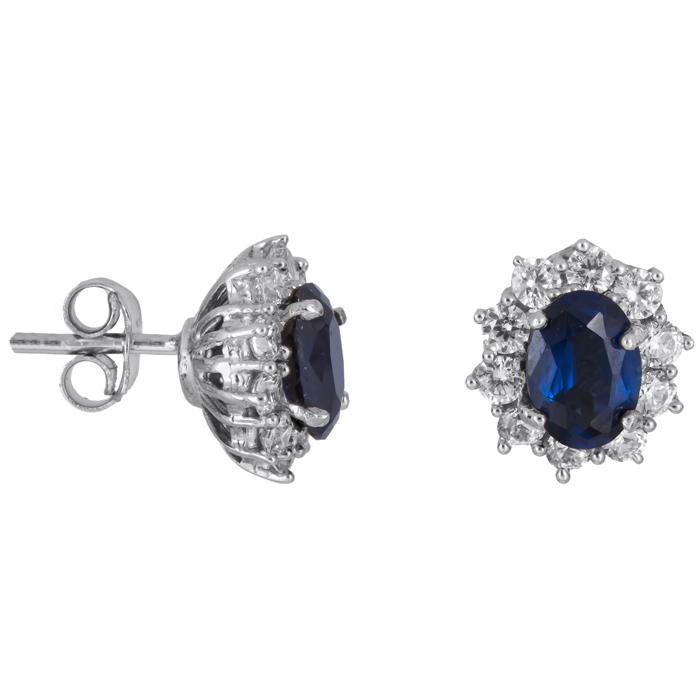 Γυναικεία σκουλαρίκια ροζέτες Κ14 024501 024501 Χρυσός 14 Καράτια