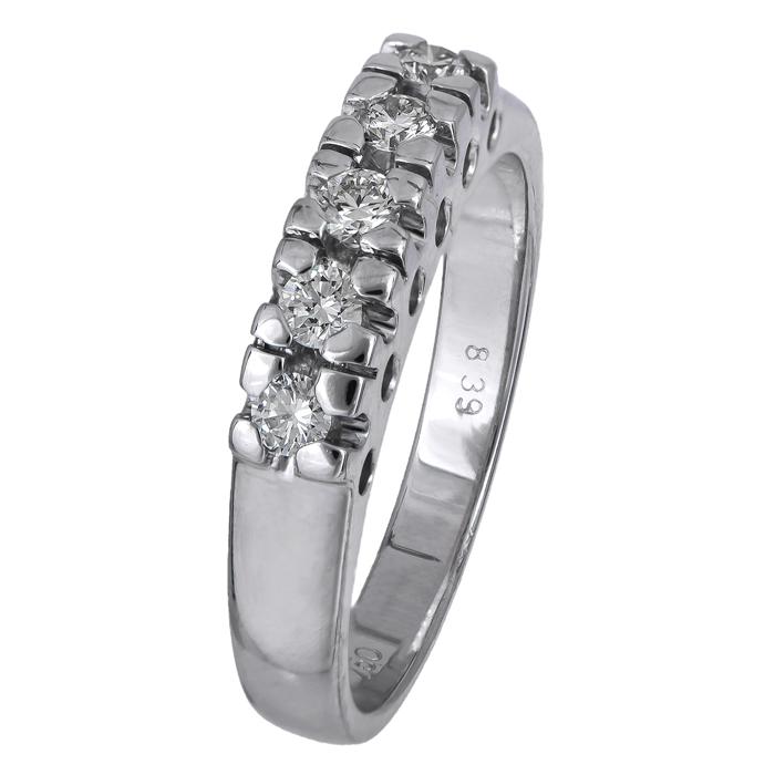 Γυναικείο δαχτυλίδι με μπριγιάν Κ18 024518 024518 Χρυσός 18 Καράτια