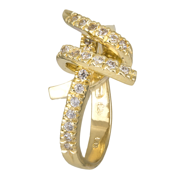 Χρυσό δαχτυλίδι 14Κ με ζιργκόν 024724 024724 Χρυσός 14 Καράτια