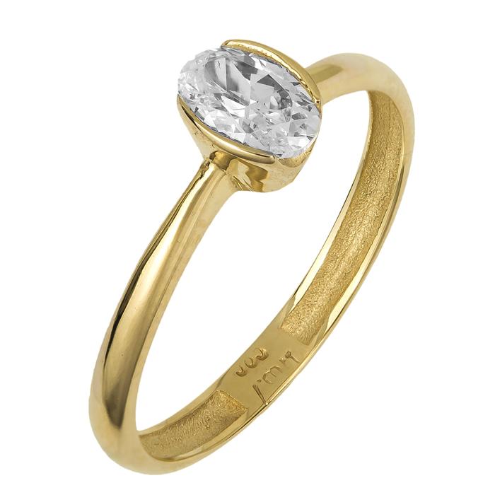 Χρυσό χειροποίητο δαχτυλίδι 14Κ 024748 024748 Χρυσός 14 Καράτια