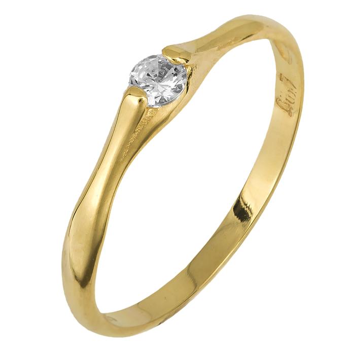 Χρυσό γυναικείο δαχτυλίδι 14Κ 024749 024749 Χρυσός 14 Καράτια