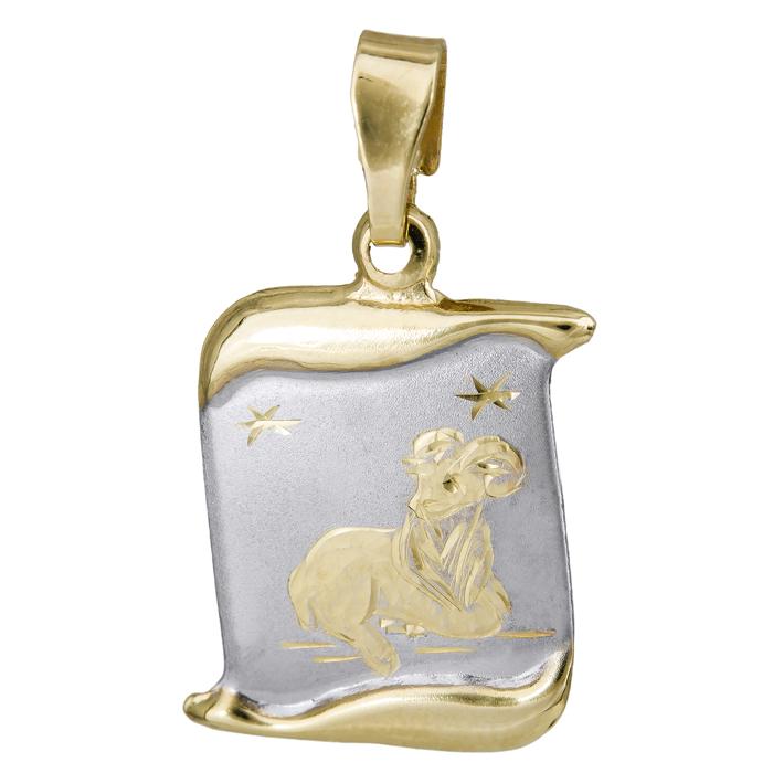 Παιδικό ζώδιο κριός Κ14 024764 024764 Χρυσός 14 Καράτια