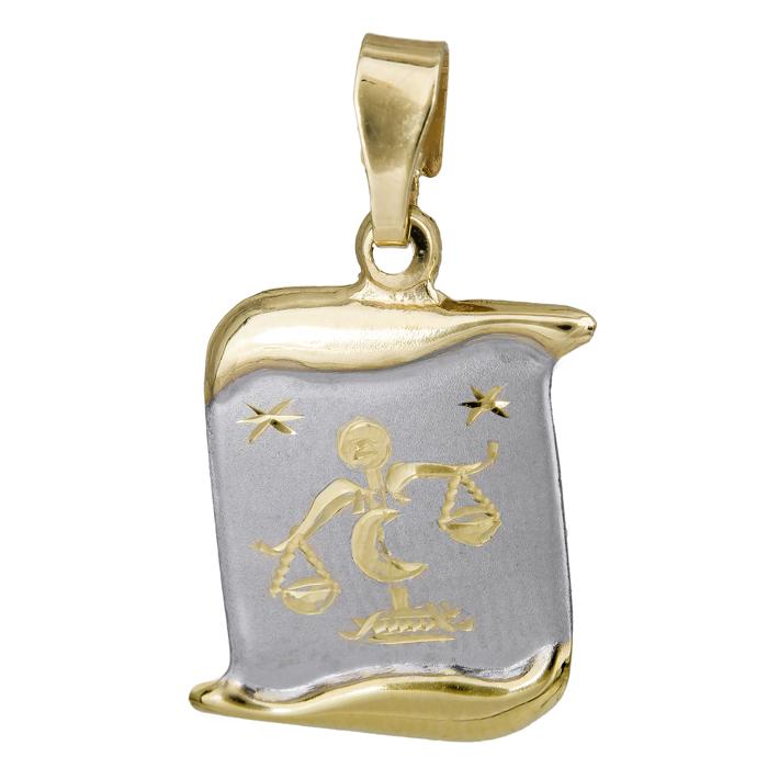 Παιδικό ζώδιο Ζυγός Κ14 024770 024770 Χρυσός 14 Καράτια