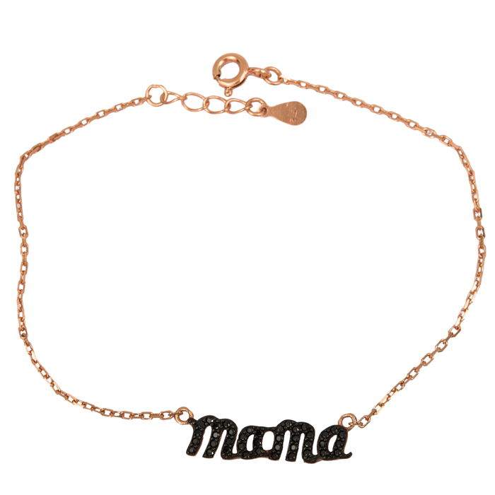 Γυναικείο βραχιόλι mama 925 024869 024869 Ασήμι