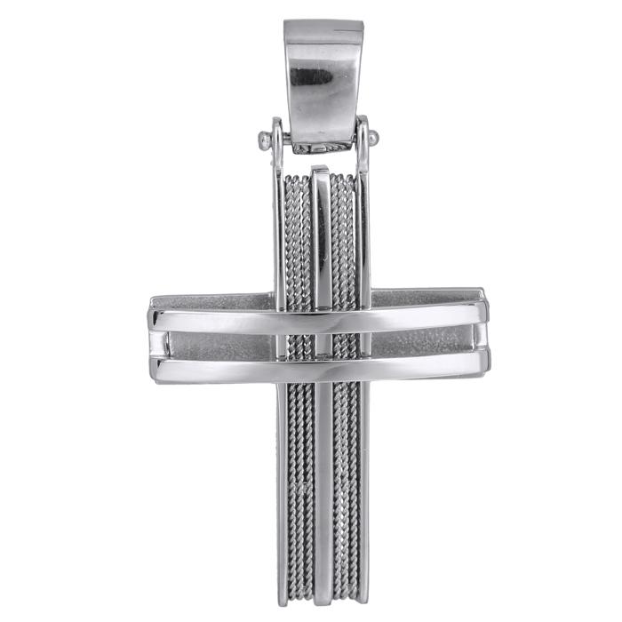 Σταυροί Βάπτισης - Αρραβώνα Χειροποίητος συρματερός σταυρός Κ14 024963 024963 Ανδρικό Χρυσός 14 Καράτια