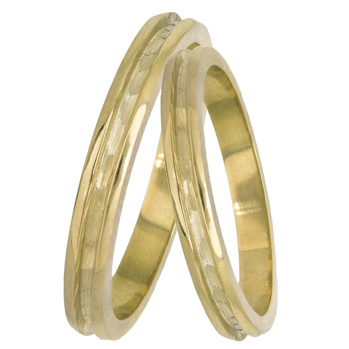 Χρυσές βέρες γάμου 14Κ 025098 025098 Χρυσός 14 Καράτια