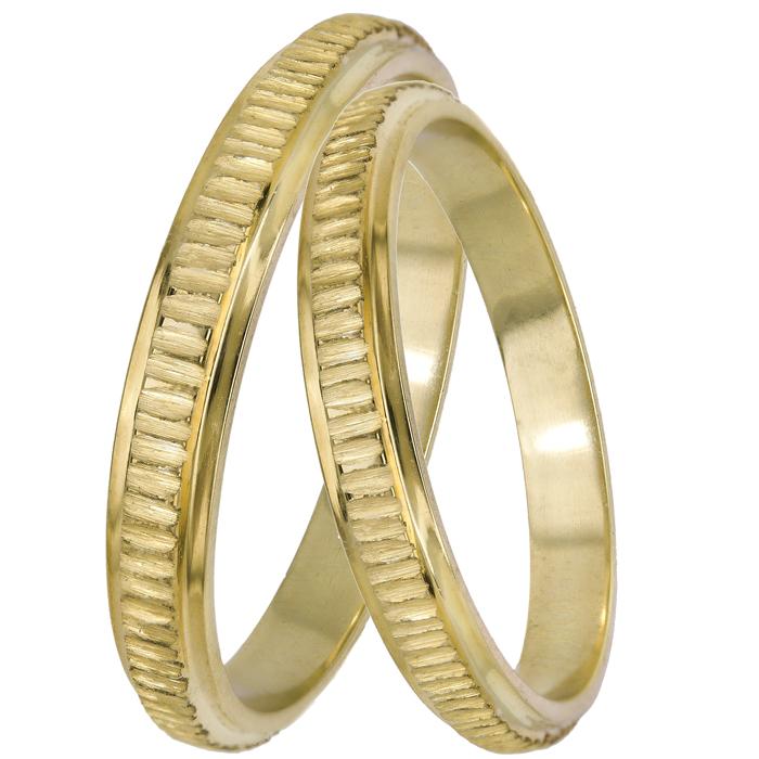 Χρυσές χειροποίητες βέρες 14Κ 025104 025104 Χρυσός 14 Καράτια