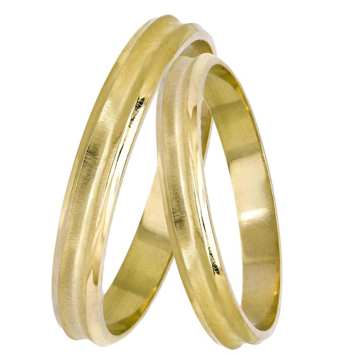 Χρυσές βέρες γάμου 14Κ 025107 025107 Χρυσός 14 Καράτια