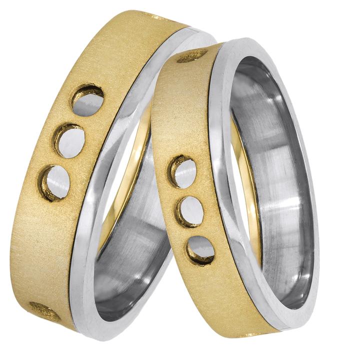 Χειροποίητες βέρες γάμου 14Κ 025114 025114 Χρυσός 14 Καράτια
