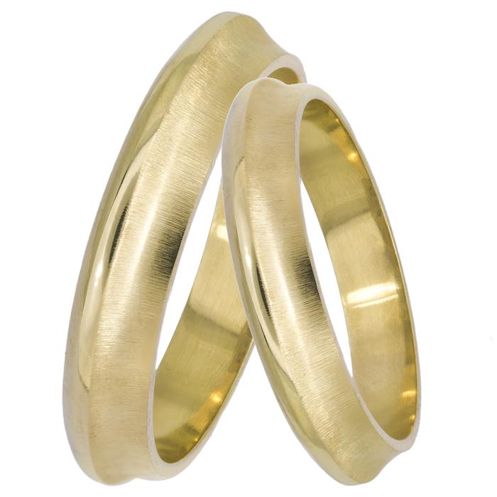 Χειροποίητες χρυσές βέρες 14Κ 025116 025116 Χρυσός 14 Καράτια