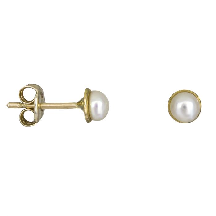 Παιδικά σκουλαρίκια με μαργαριτάρια Κ9 025422 025422 Χρυσός 9 Καράτια 48200c5b65f