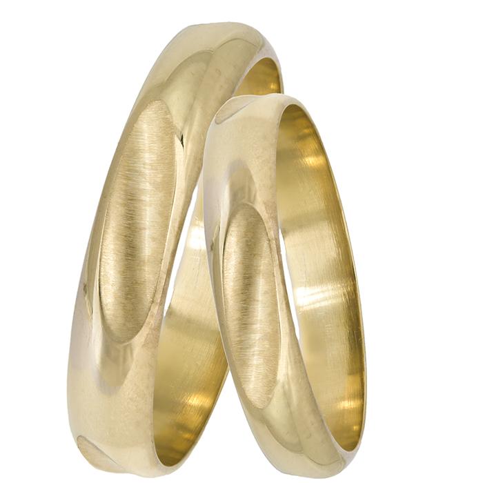 Χρυσές χειροποίητες βέρες 14Κ 025598 025598 Χρυσός 14 Καράτια