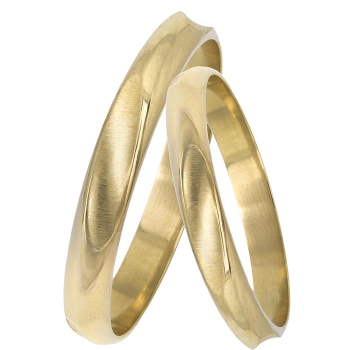 Χρυσές βέρες γάμου - αρραβώνα 14Κ 025599 025599 Χρυσός 14 Καράτια